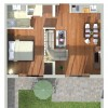 Comfort One-Bedroom Apartment  with Balcony or Terrace - Ground Plan
